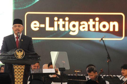 Ketua Mahkamah Agung: E-Litigasi, Redisien Praktek Peradilan Indonesia