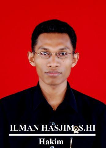 Ilman Hasjim, S.HI, M.H.