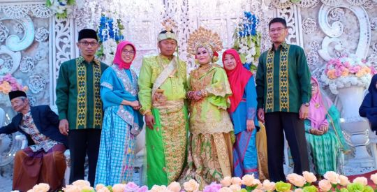 Dua Pegawai Pengadilan Agama Kolaka Resmi Jadi Pasangan Suami Istri