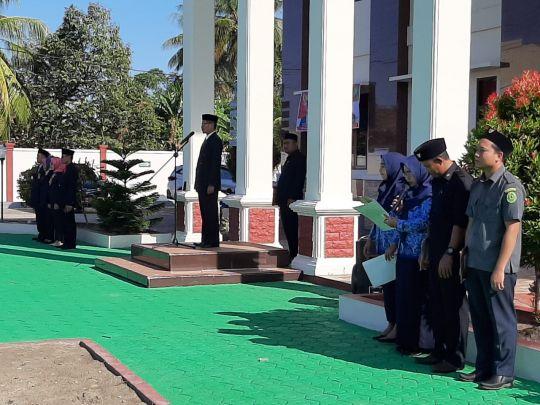 Ketua Pengadilan Agama Kolaka Pimpin Upacara Hari Kesaktian Pancasila