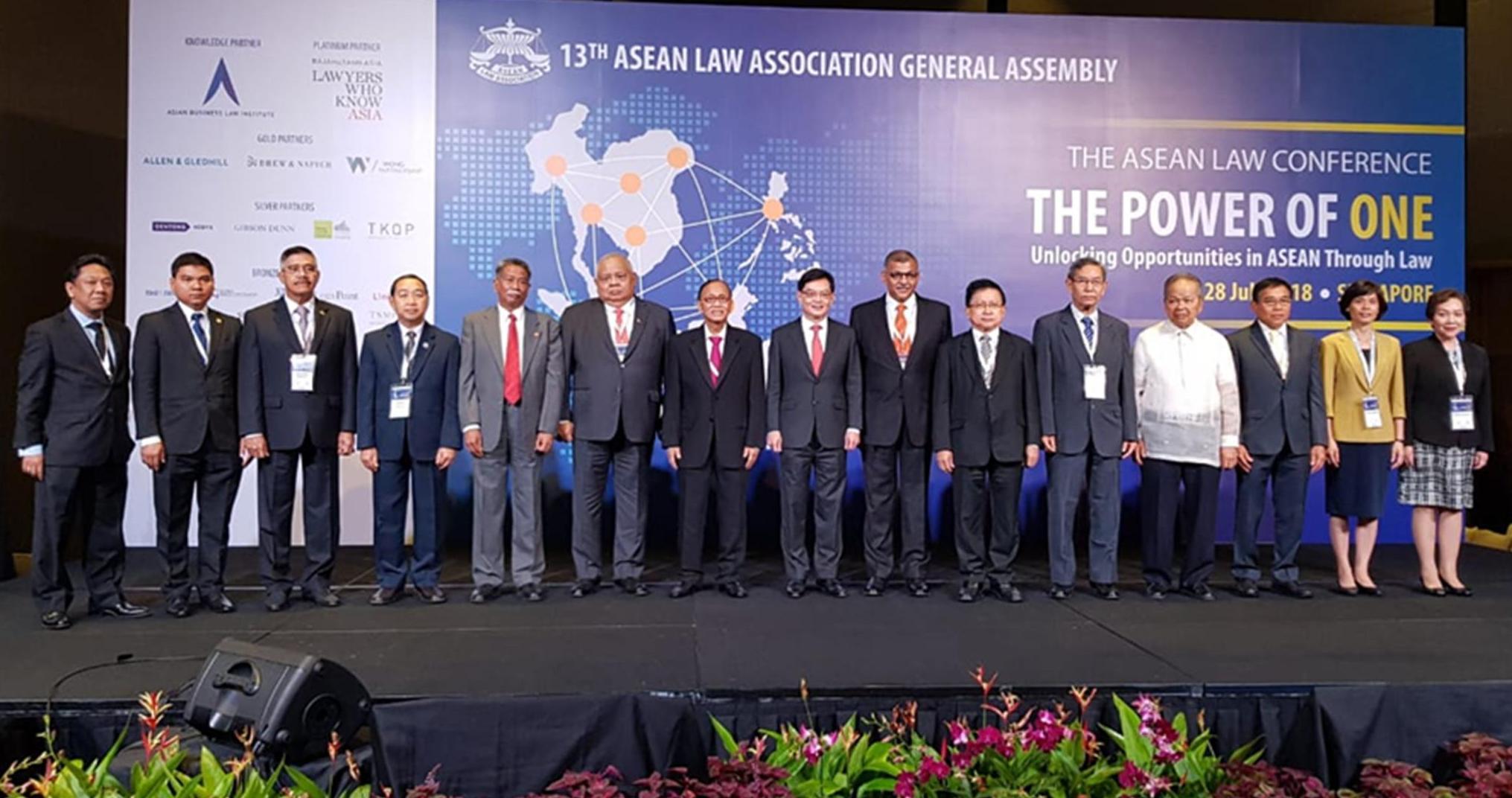 Ketua Mahkamah Agung RI Menghadiri Pembukaan General Assembly ALA ke 13 di Singapura